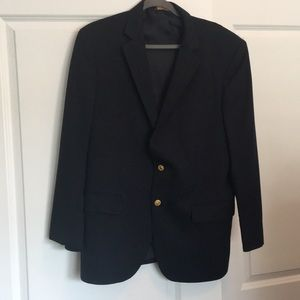 Men's Navy Blue Brooks Brothers suit jacket